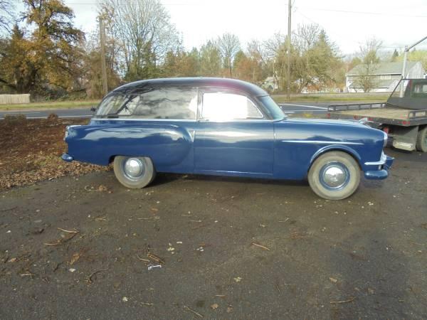 Packard 1953 hearse side