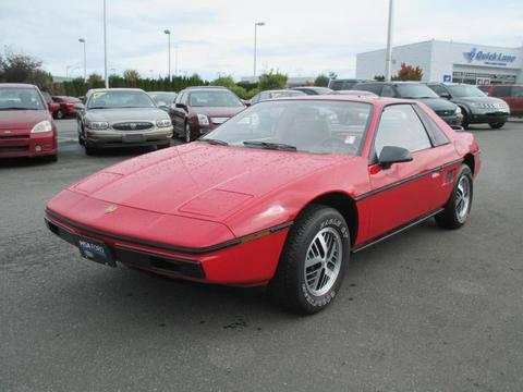 Pontiac 1984 Fiero fq