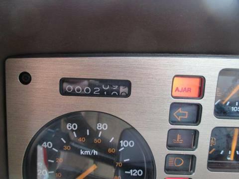 Pontiac 1984 Fiero odo