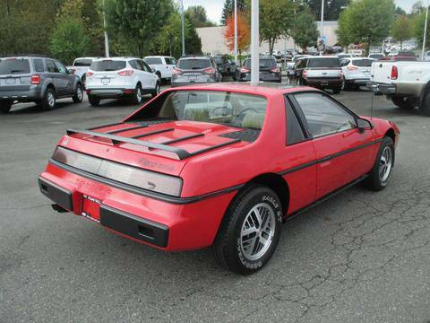 Exceptional Cl Find Brand New 1984 Pontiac Fiero Heavily Discounted From Its Original Price