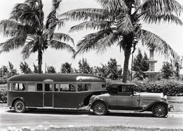 RV fifth wheel 1930