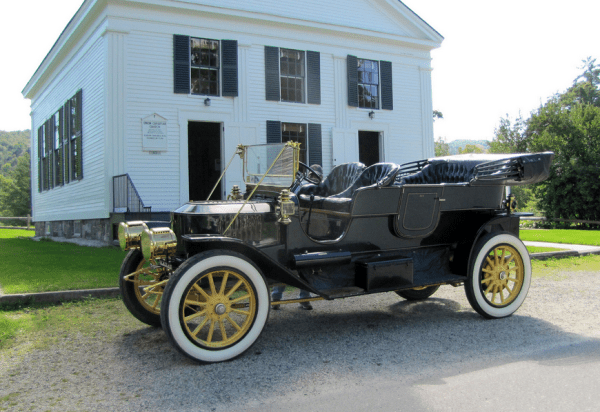 Stanley 1911 steamer