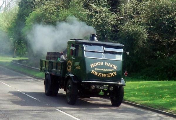 Steamer truck  by Austin7nut