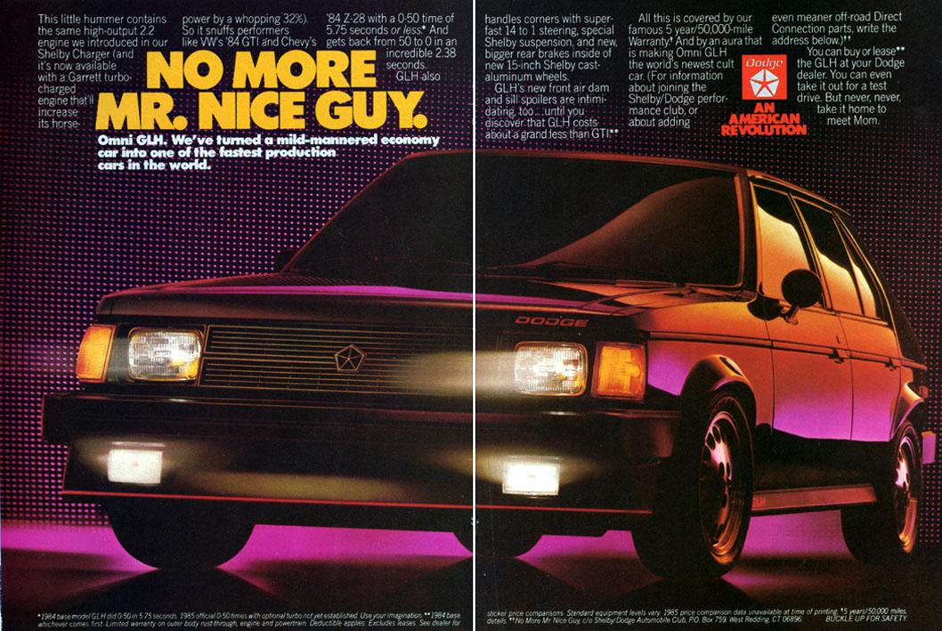 Craigslist Find: 1986 Dodge Omni GLH – A Bargain At $1000