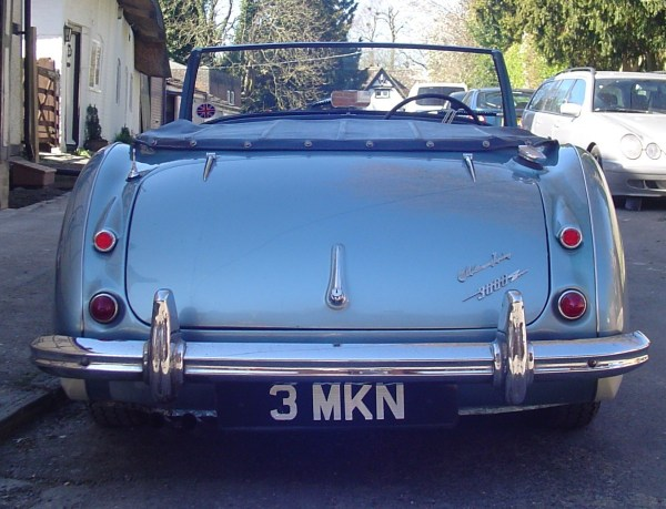1960 Austin Healey 4