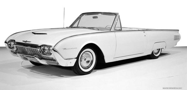 1961 Ford Thunderbird Convertible | Credit: NetCarShow.com