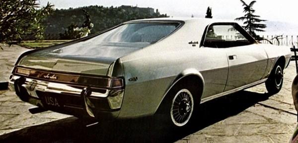 1968 AMC Javelin | Credit: oldcarbrochures.com