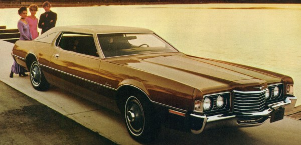 1972 Ford Thunderbird | Credit: oldcarbrochures.com