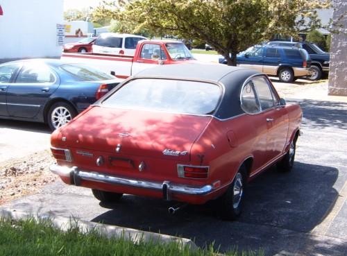 Opel 1969 kadett TK