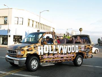 ford e series hollywood tour - photo courtesy of LA Tourist