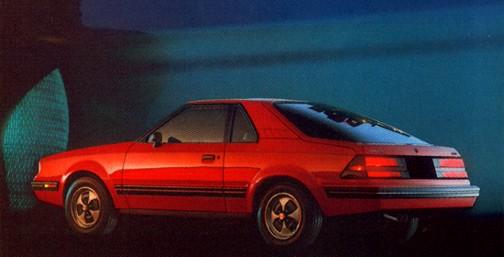 mercury 1982 ln7 _red_rear_1982