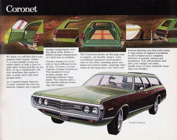 1972 Dodge Full-Line 26  amp  27