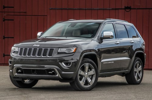2014-jeep-grand-cherokee-v8-overland-front-three-quarters