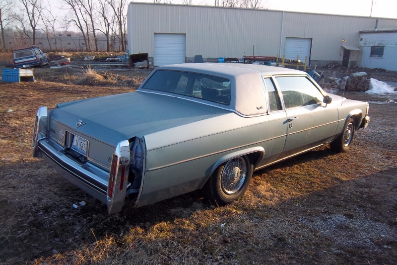 Curbside Clic: 1984 Cadillac Coupe deVille – You Can Kill a Horse