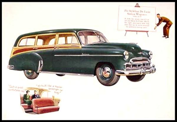 Chevrolet 1949 wagon