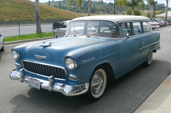 Chevrolet 1955 210 wagon blue