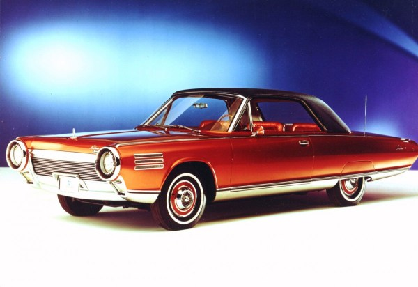 Chrysler Turbine Car Frt Qtr Blue Bk