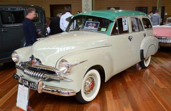 FJ Holden wagon
