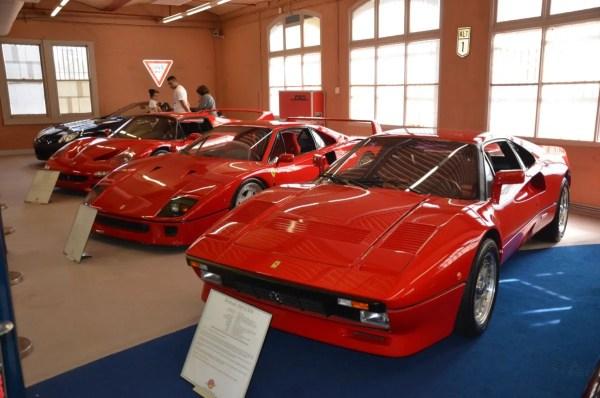 Ferrari trio