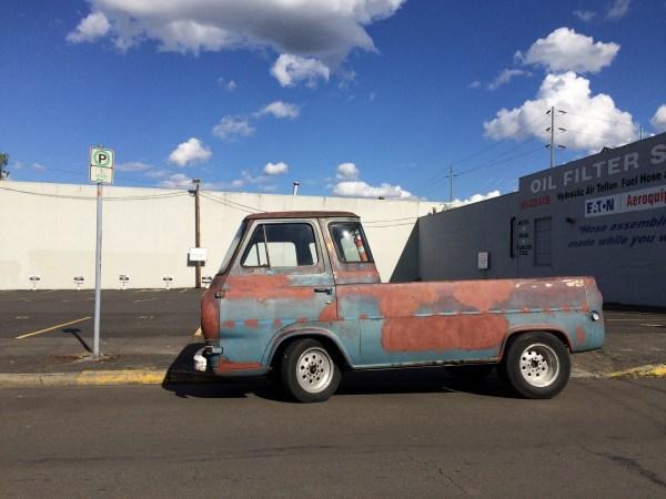 Ford Econoline PU patina 2