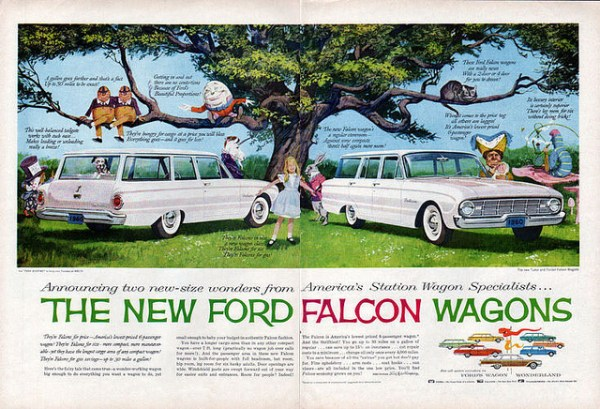 Ford Falcon 1960 wagons