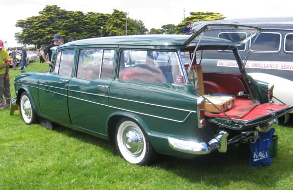 Humber Super Snipe wagon