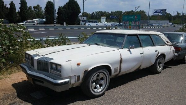 Olds 1976 wagon custom fq