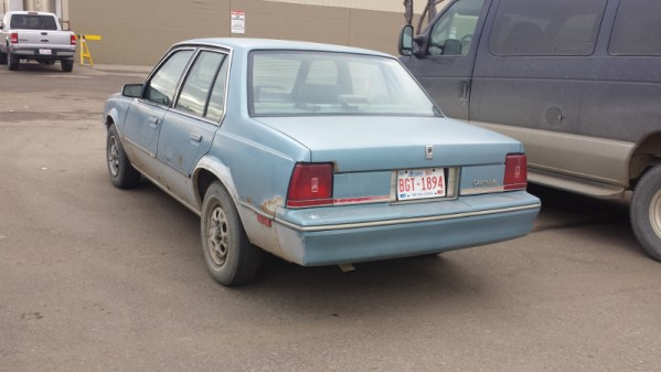 Oldsmobile Firenza rear