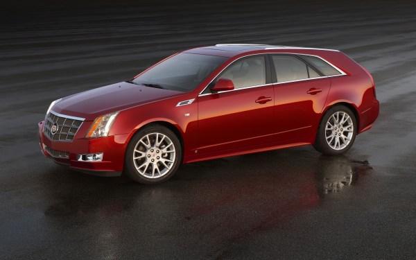 Future Curbside Classics 2010 14 Cadillac Cts Sport Wagon Agree