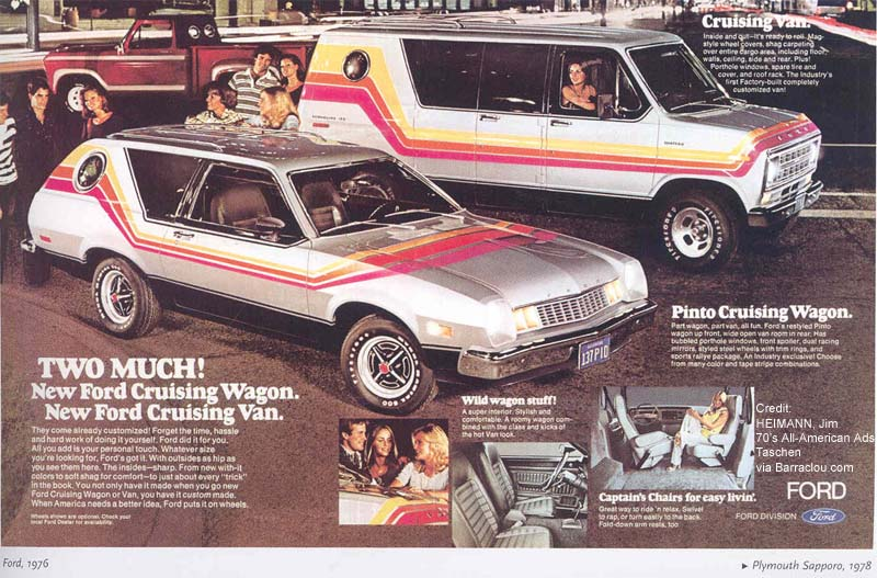 Ford Pinto Cruising Wagon Ad