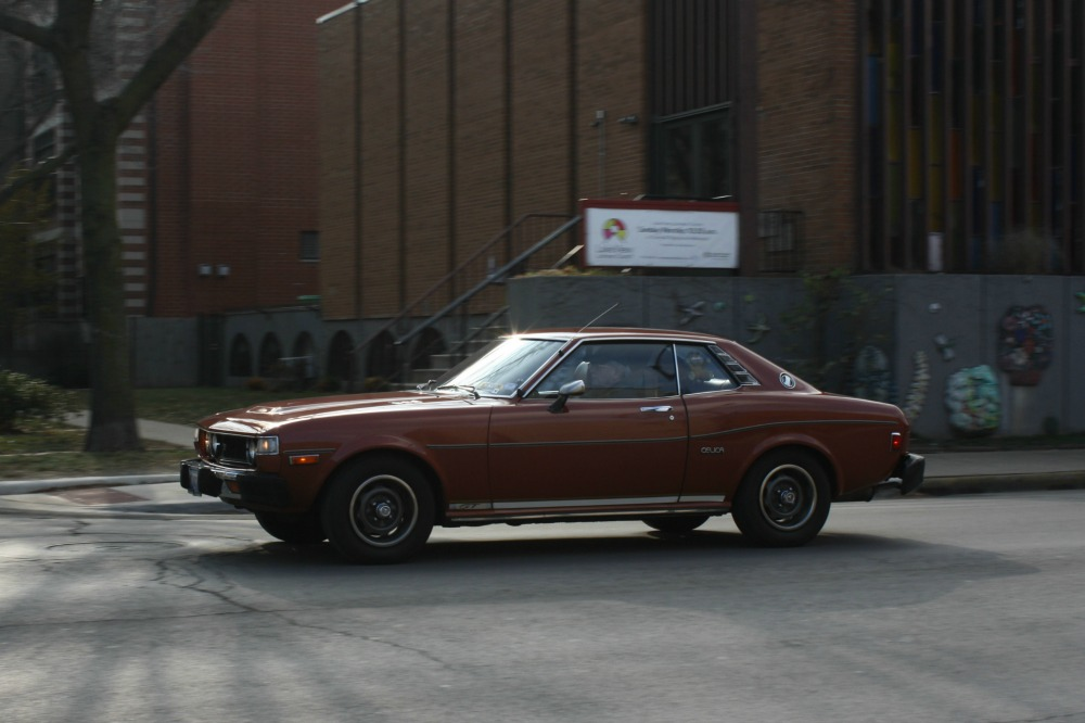 In Motion Classic 1976 Toyota Celica Gt Notchback Hang In There Baby Curbside Classic