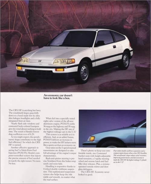 06 1988 CRX brochure composite
