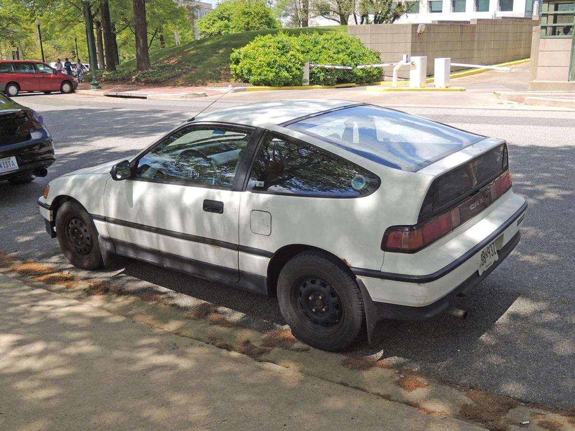 Curbside Classic: 1990 Honda CRX HF – I Was Green When Green Wasn\'t Cool