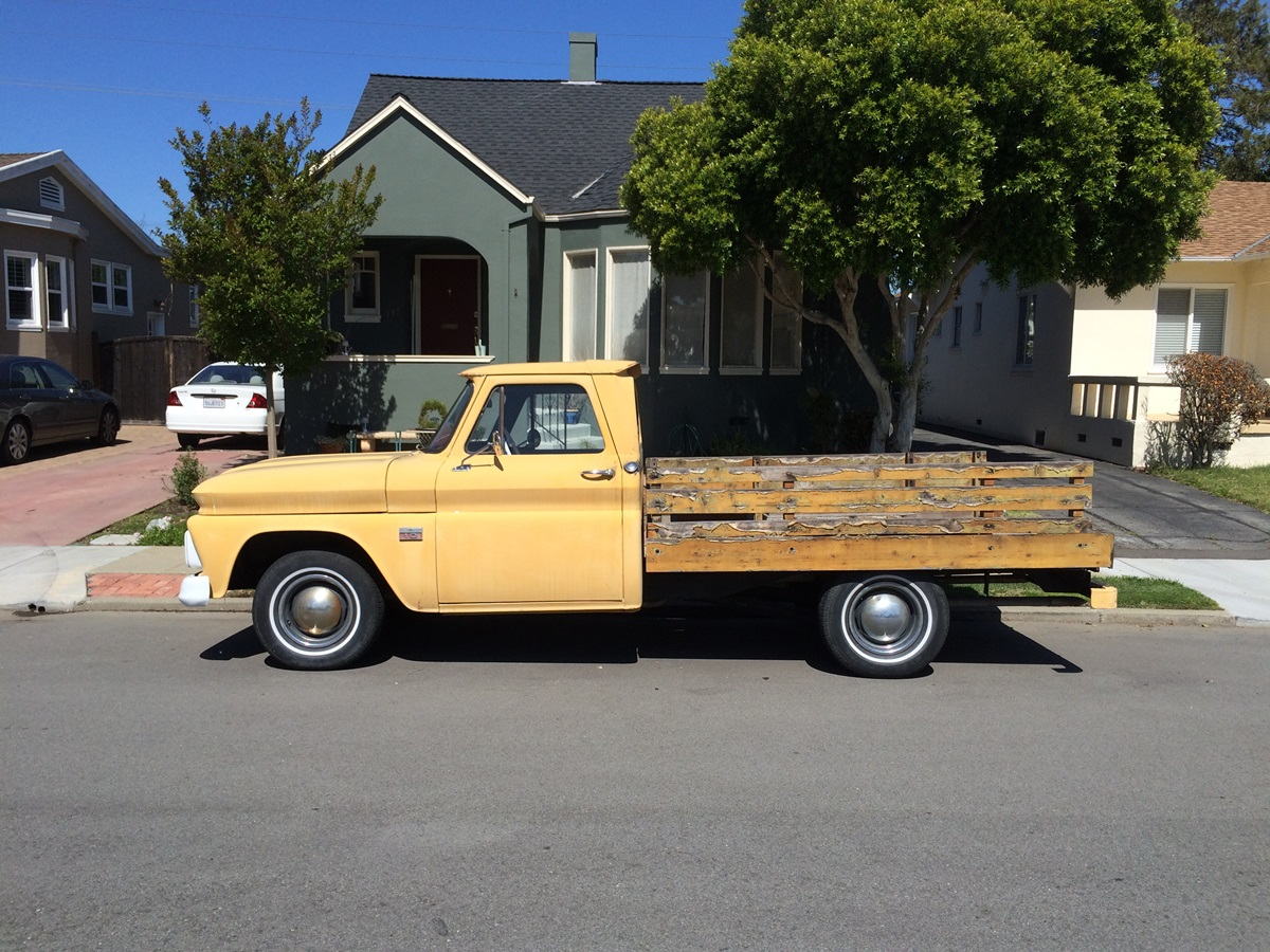 1966 chevy truck wood bed kit