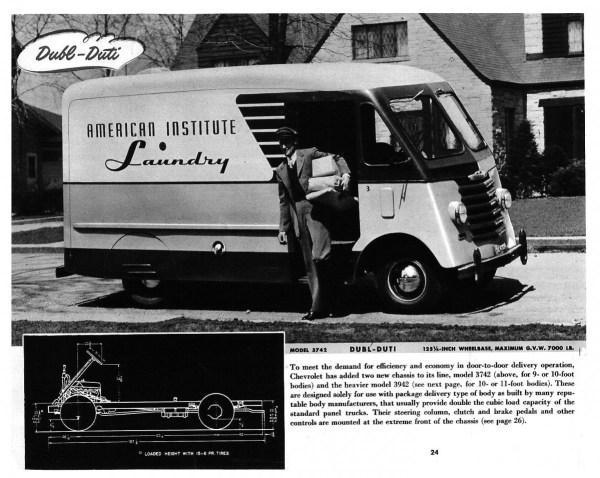 Chevrolet Trucks 1948 van br-24