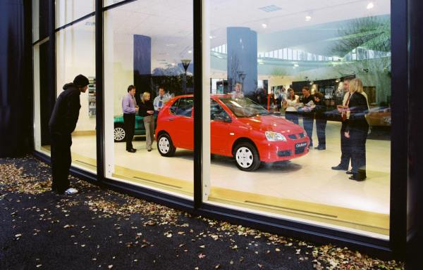 Cityrover showroom