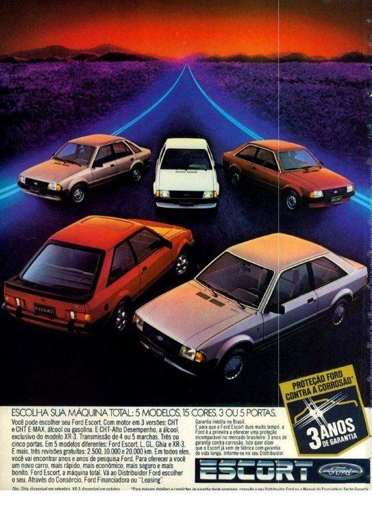 Ford Brazil Escort 1984