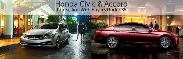 Honda civic-accord-top-sellers