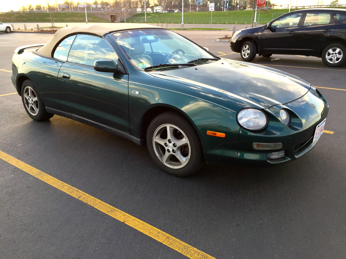 curbside classic 1997 toyota celica gt the beginning of the end rh curbsideclassic com 1997 Toyota Celica GT Celica GT4