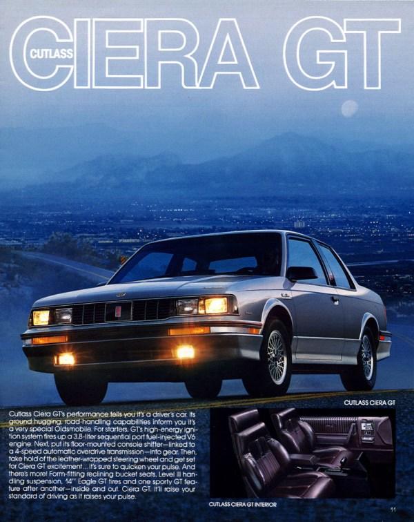 Olds 1986 Ciera GT