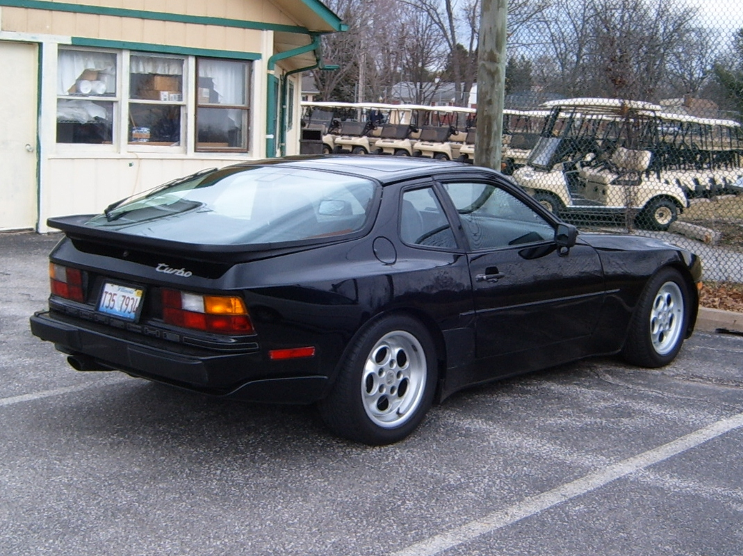 Curbside Classic 1986 Porsche 944 Turbo Vws Loss Is