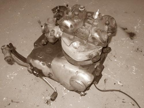 Triumph Daytone engine