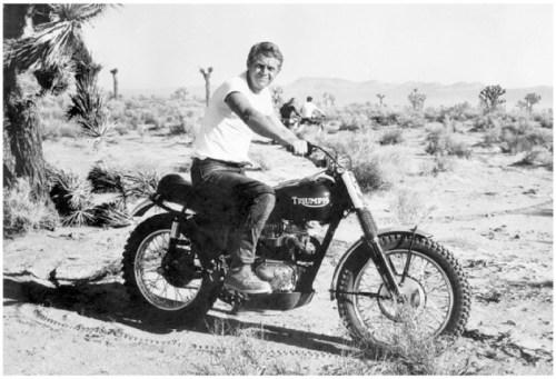 Triumph steve-mcqueen-bud-ekins-triumph-desert-motorcycle-racing