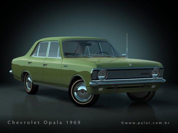 chevrolet BR opala-1969