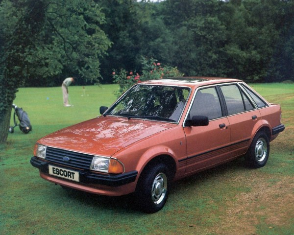 ford escort UK 1982