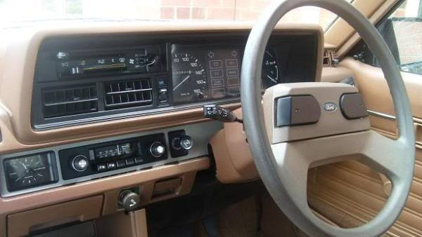 ford laser kb interior