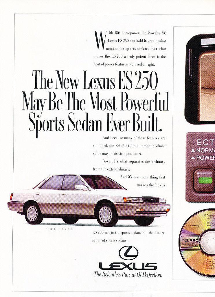 Curbside Classic 1989 91 Lexus Es250 Lexus Learning Curve
