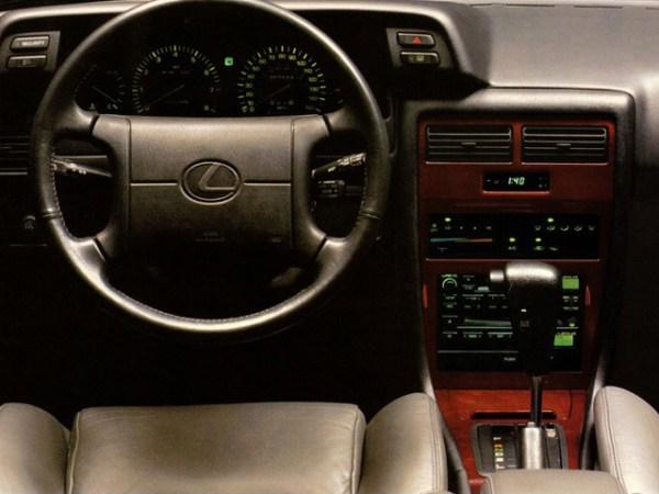 lexus es250 interior