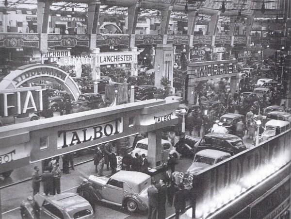 1936 london motor show