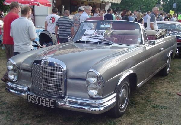 1965 Mercedes 350SE
